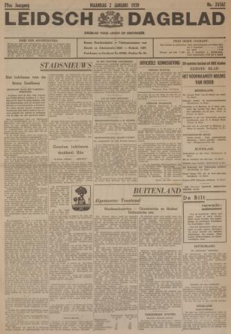 Leidsch Dagblad 1939