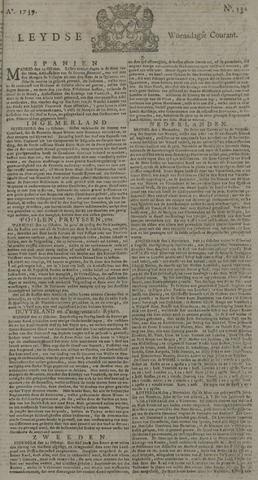 Leydse Courant 1739-11-04