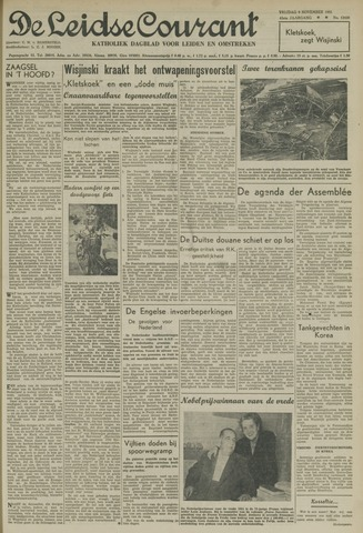Leidse Courant 1951-11-09