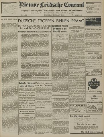 Nieuwe Leidsche Courant 1939-03-15