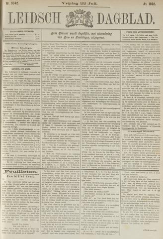 Leidsch Dagblad 1892-07-22