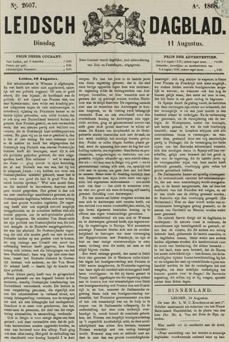 Leidsch Dagblad 1868-08-11