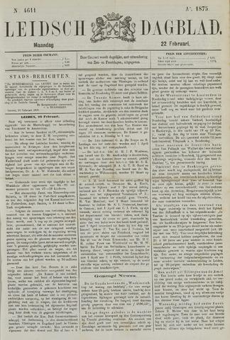 Leidsch Dagblad 1875-02-22
