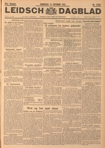 Leidsch Dagblad 1942-09-24
