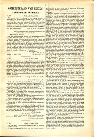 Handelingen van de Raad 1902-03-14