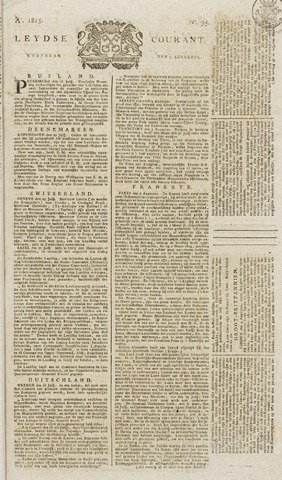 Leydse Courant 1815-08-09