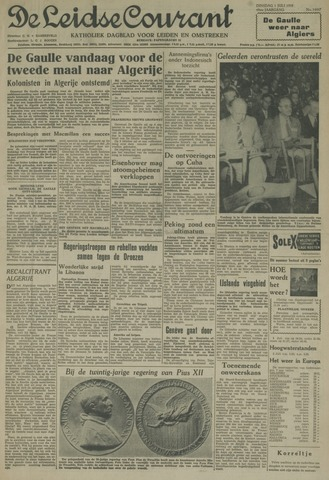 Leidse Courant 1958-07-01