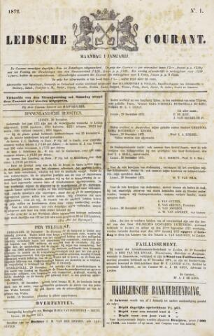 Leydse Courant 1872-01-01