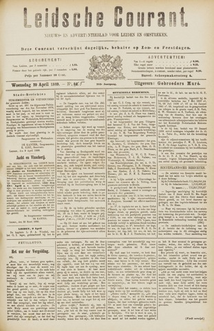 Leydse Courant 1889-04-10