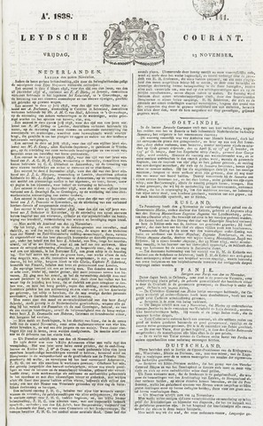 Leydse Courant 1838-11-23