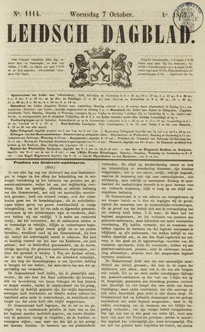 Leidsch Dagblad 1863-10-07