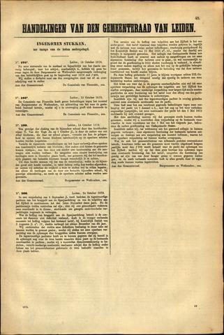 Handelingen van de Raad 1872-10-13