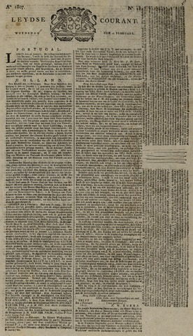 Leydse Courant 1807-02-11