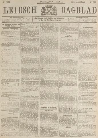 Leidsch Dagblad 1916-11-07