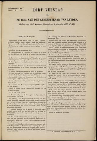 Handelingen van de Raad 1855-08-04