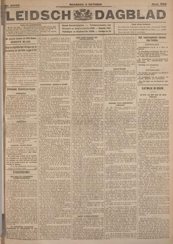 Leidsch Dagblad 1926-10-11