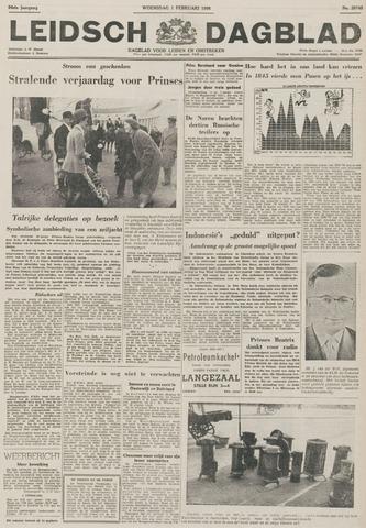 Leidsch Dagblad 1956-02-01