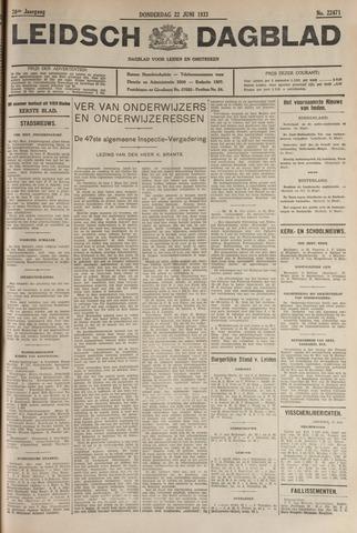 Leidsch Dagblad 1933-06-22