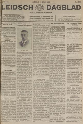 Leidsch Dagblad 1933-03-11