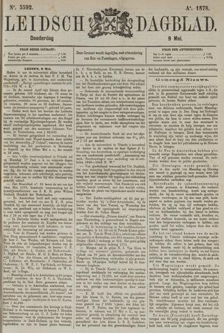 Leidsch Dagblad 1878-05-09