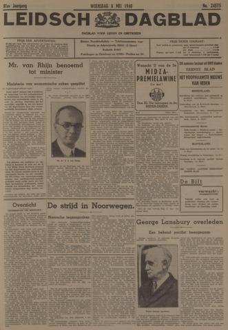 Leidsch Dagblad 1940-05-08