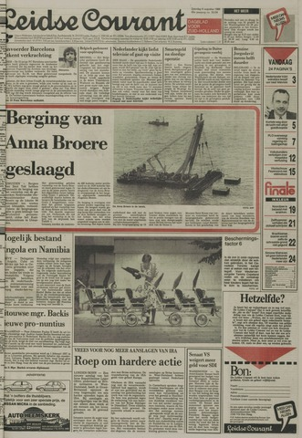 Leidse Courant 1988-08-06