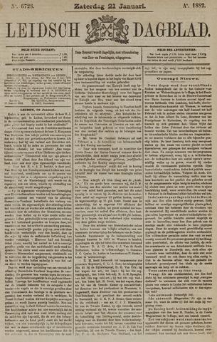 Leidsch Dagblad 1882-01-21