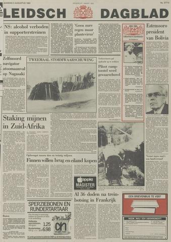 Leidsch Dagblad 1985-08-05