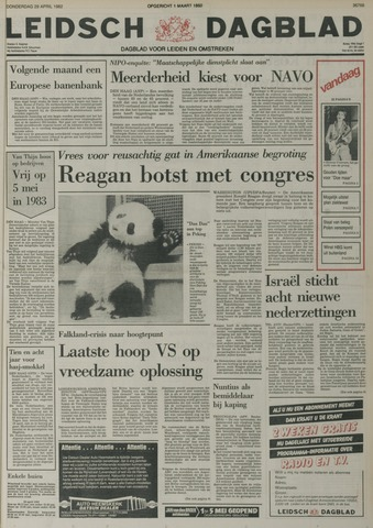 Leidsch Dagblad 1982-04-29