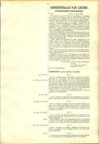 Handelingen van de Raad 1899-04-01