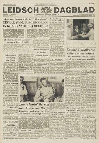 Leidsch Dagblad 1961-02-02