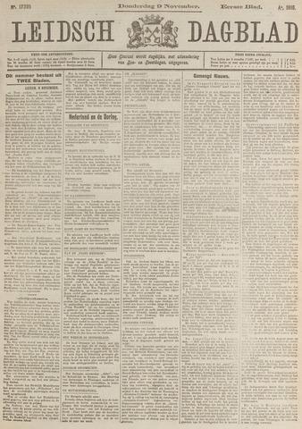 Leidsch Dagblad 1916-11-09