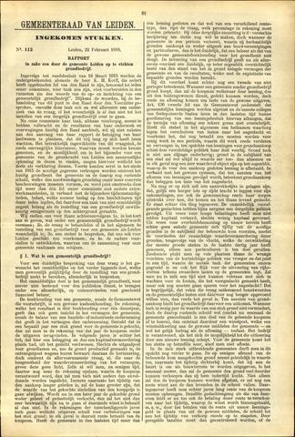 Handelingen van de Raad 1918-02-22