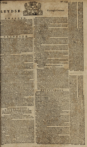 Leydse Courant 1753-11-30