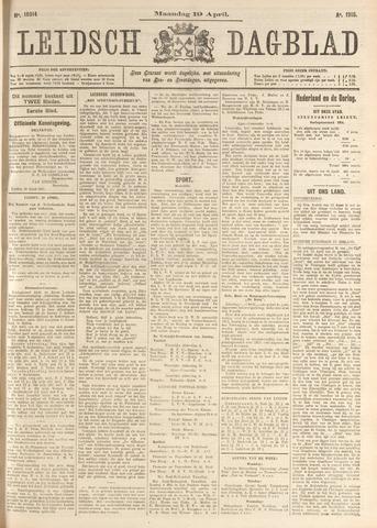 Leidsch Dagblad 1915-04-19