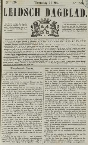 Leidsch Dagblad 1866-05-30