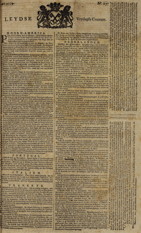 Leydse Courant 1779-12-31