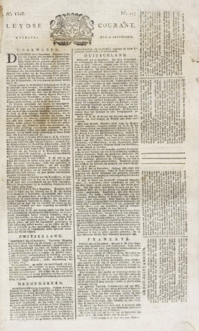 Leydse Courant 1818-09-30