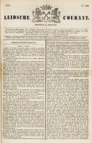 Leydse Courant 1872-08-06