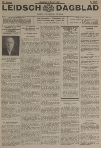 Leidsch Dagblad 1935-03-25