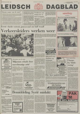 Leidsch Dagblad 1985-05-25