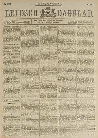 Leidsch Dagblad 1901-09-19