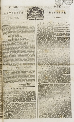 Leydse Courant 1844-04-29