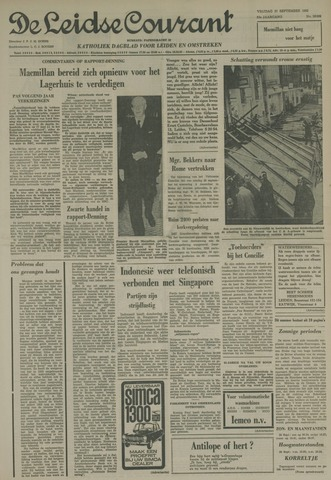 Leidse Courant 1963-09-27