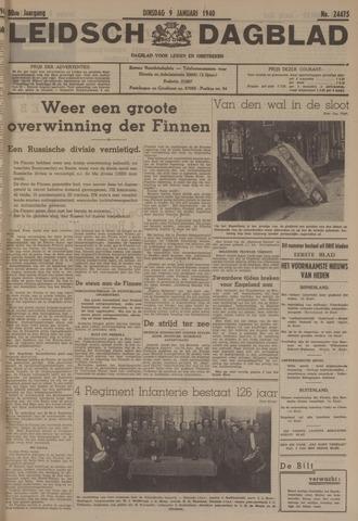 Leidsch Dagblad 1940-01-09