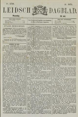 Leidsch Dagblad 1875-07-26