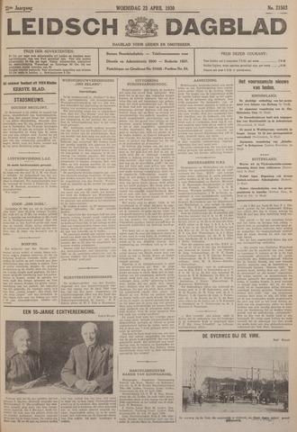 Leidsch Dagblad 1930-04-23