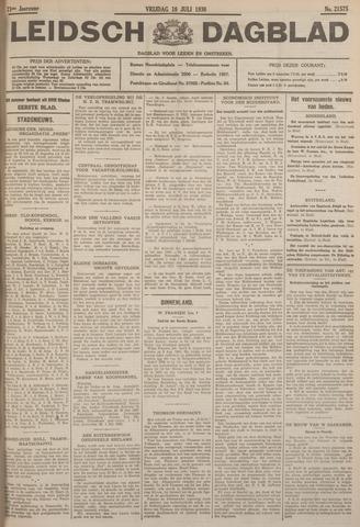 Leidsch Dagblad 1930-07-18