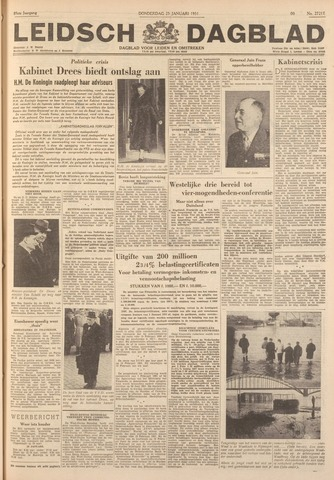 Leidsch Dagblad 1951-01-25