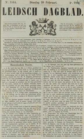Leidsch Dagblad 1866-02-20